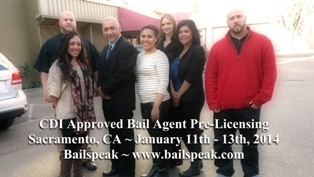 Sacramento Bail School Prelicensing Classes